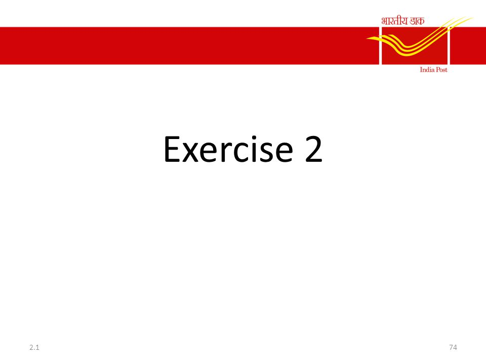 Exercise 2 2.1
