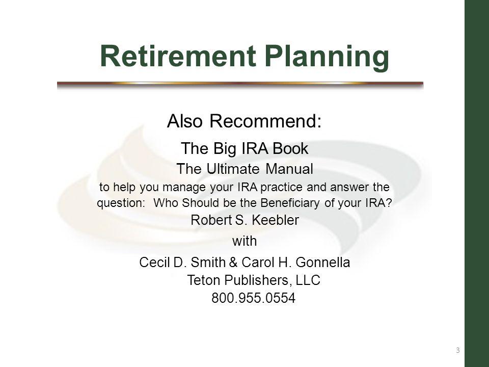 Cecil D. Smith & Carol H. Gonnella Teton Publishers, LLC 800.955.0554