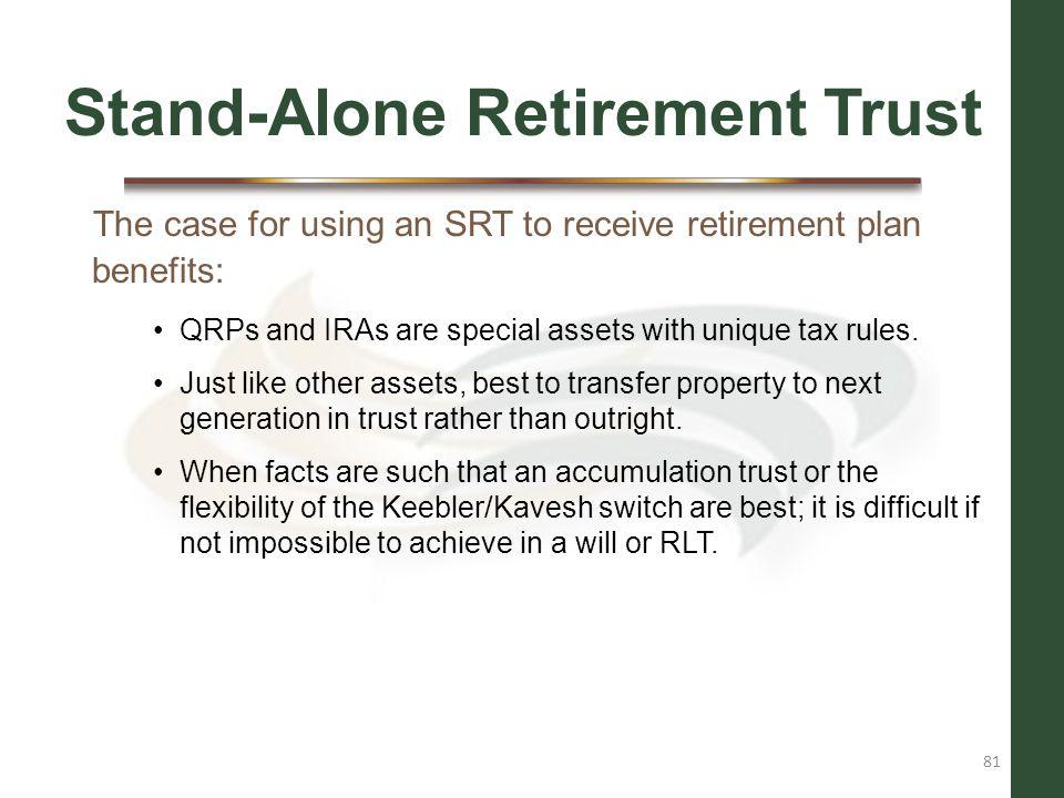 Stand-Alone Retirement Trust