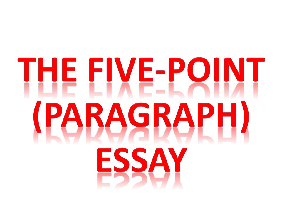 The five-point (paragraph)