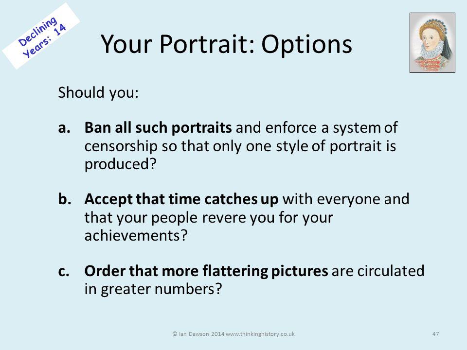 Your Portrait: Options