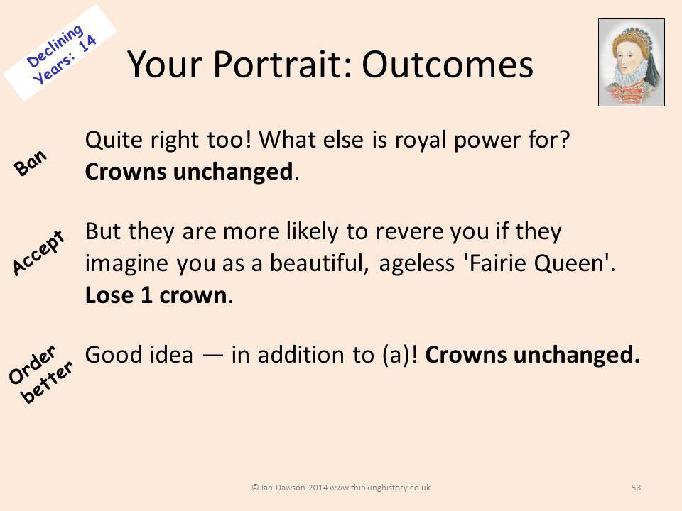 Your Portrait: Outcomes