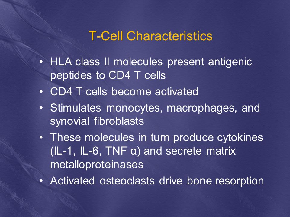 T-Cell Characteristics