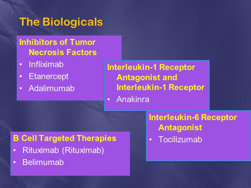 The Biologicals Inhibitors of Tumor Necrosis Factors Infliximab