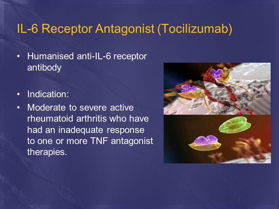 IL-6 Receptor Antagonist (Tocilizumab)