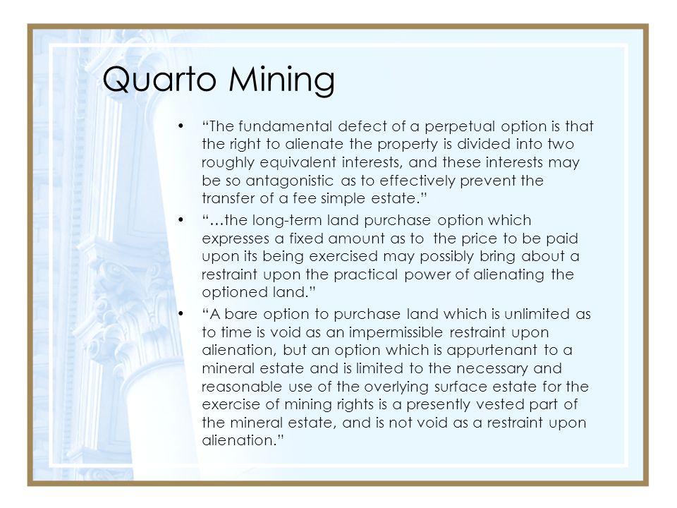 Quarto Mining