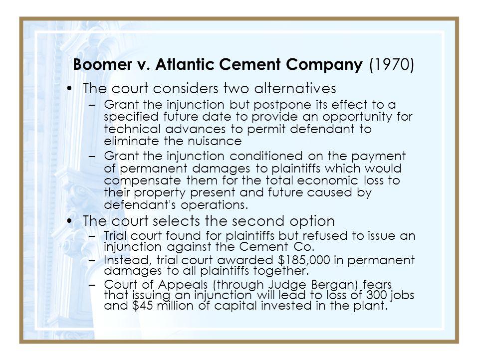 Boomer v. Atlantic Cement Company (1970)