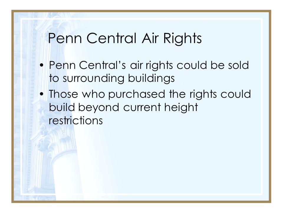 Penn Central Air Rights