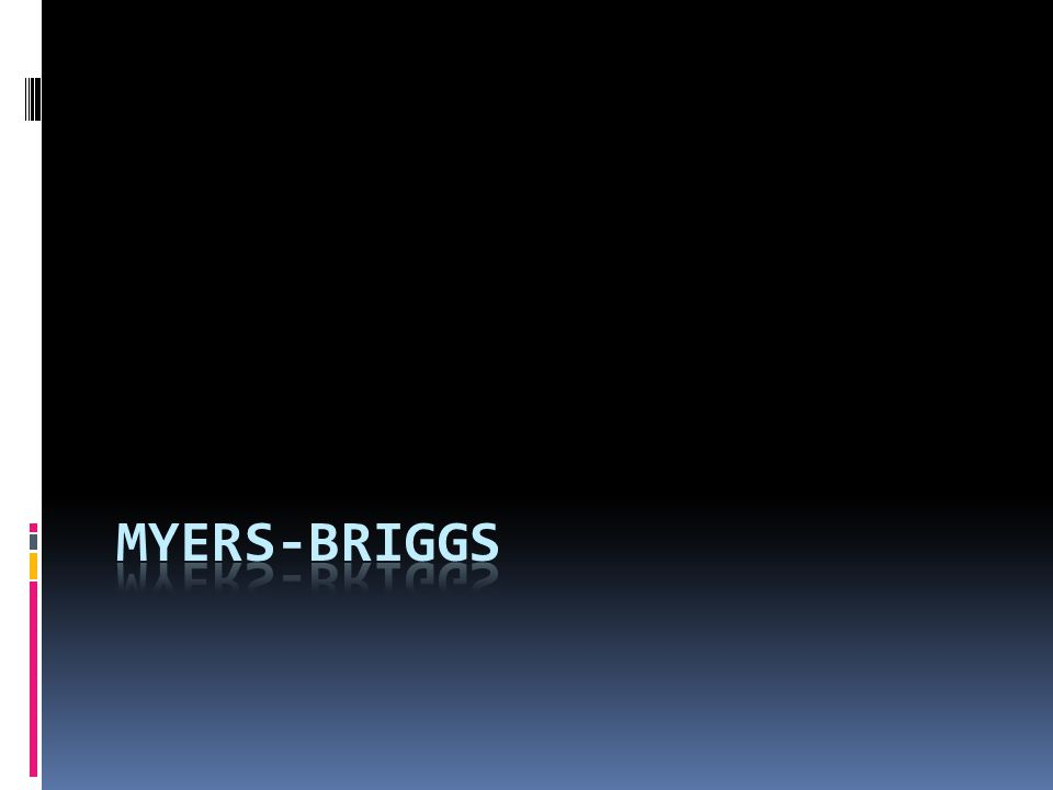 Myers-Briggs