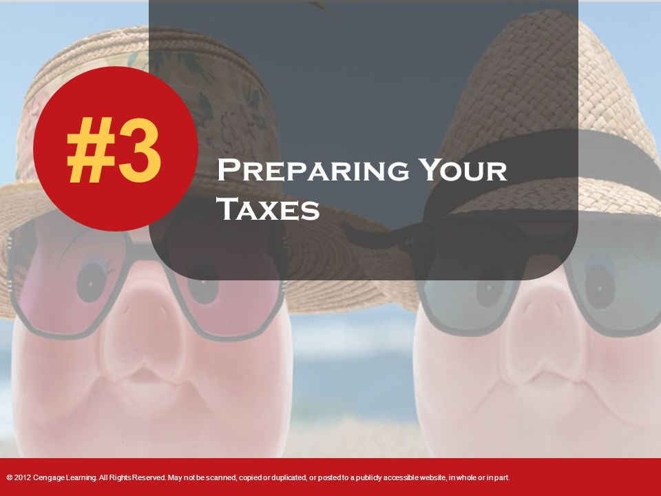 Preparing Your Taxes #3
