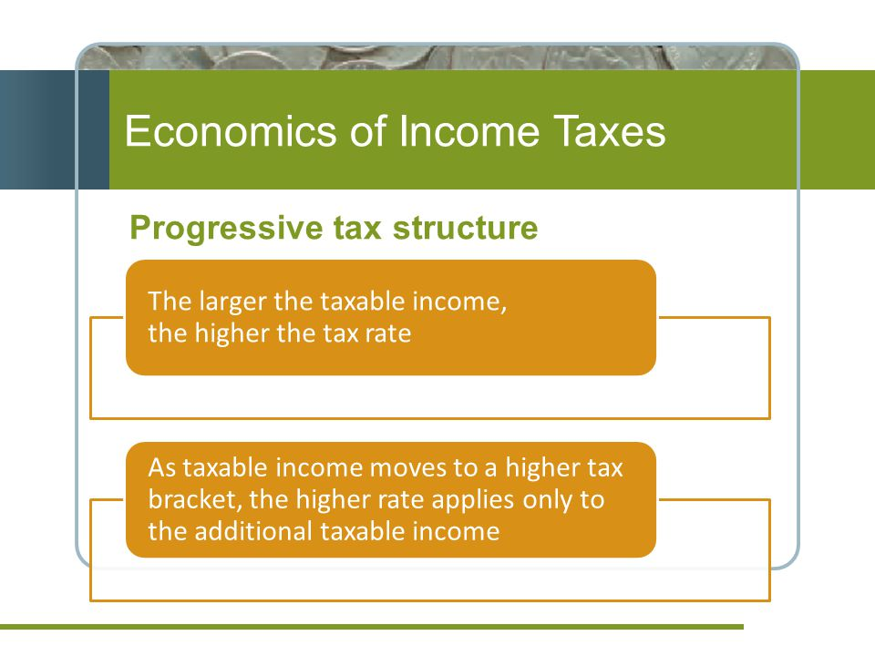 Economics of Income Taxes