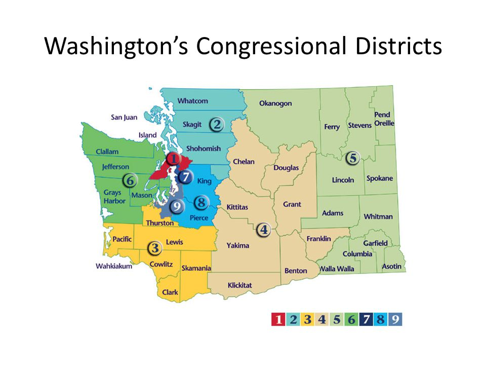 Washington's Congressional Districts