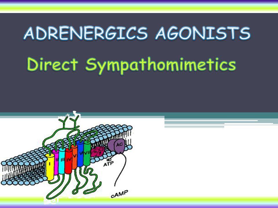 Direct Sympathomimetics