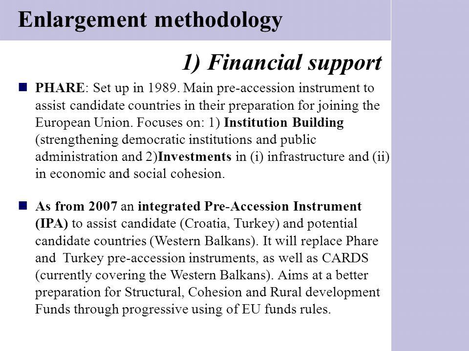 Enlargement methodology
