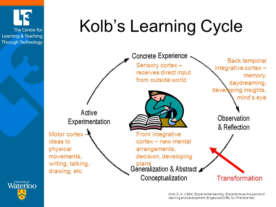 Kolb's Learning Cycle Transformation