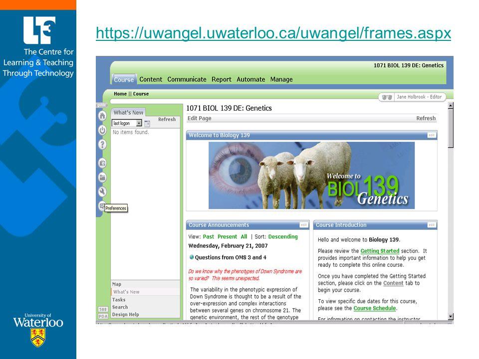 https://uwangel.uwaterloo.ca/uwangel/frames.aspx
