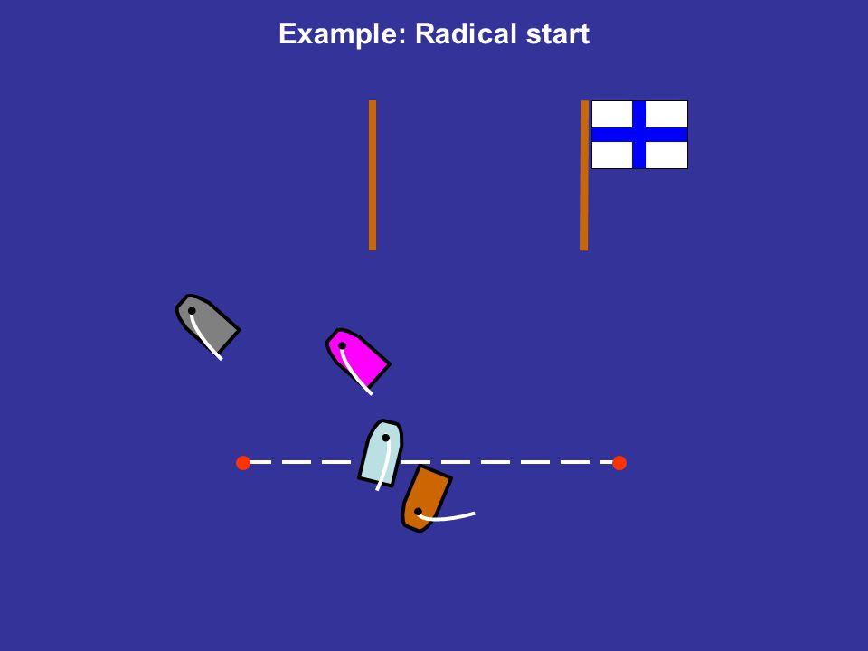Example: Radical start