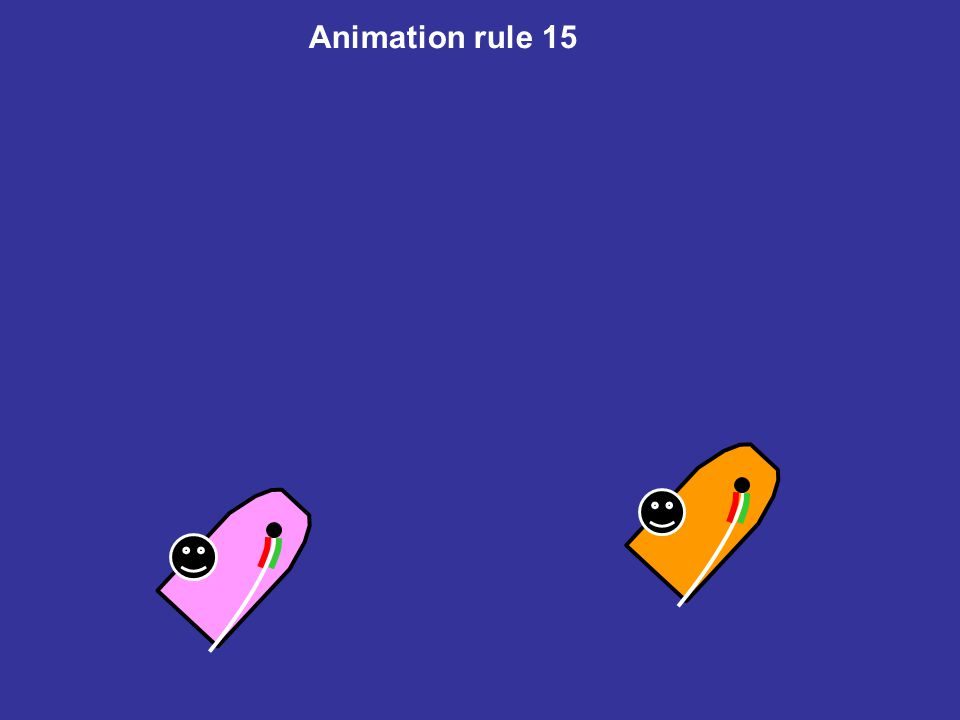 Animation rule 15