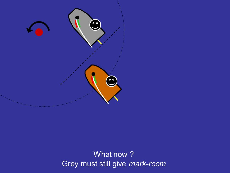 Grey must still give mark-room