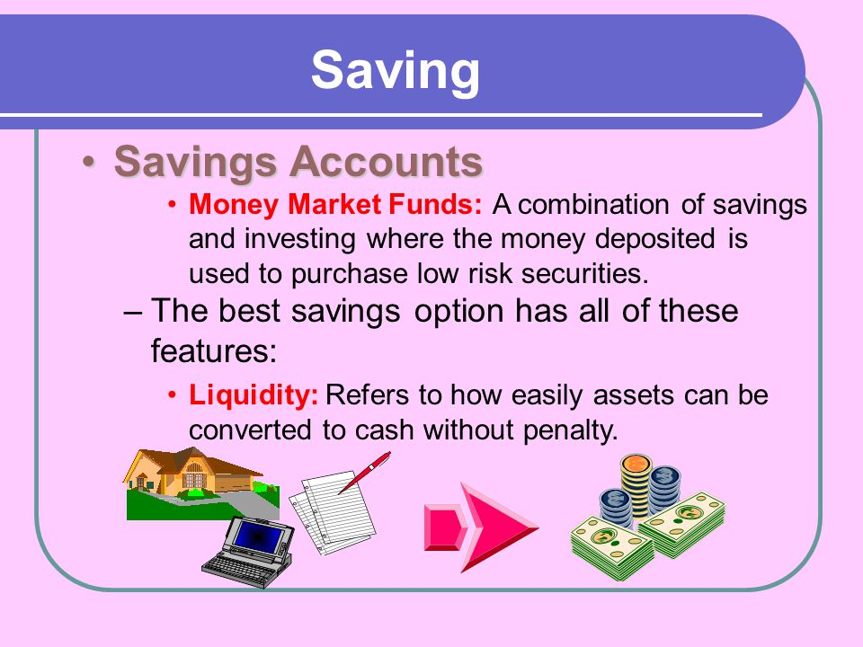 Saving Savings Accounts