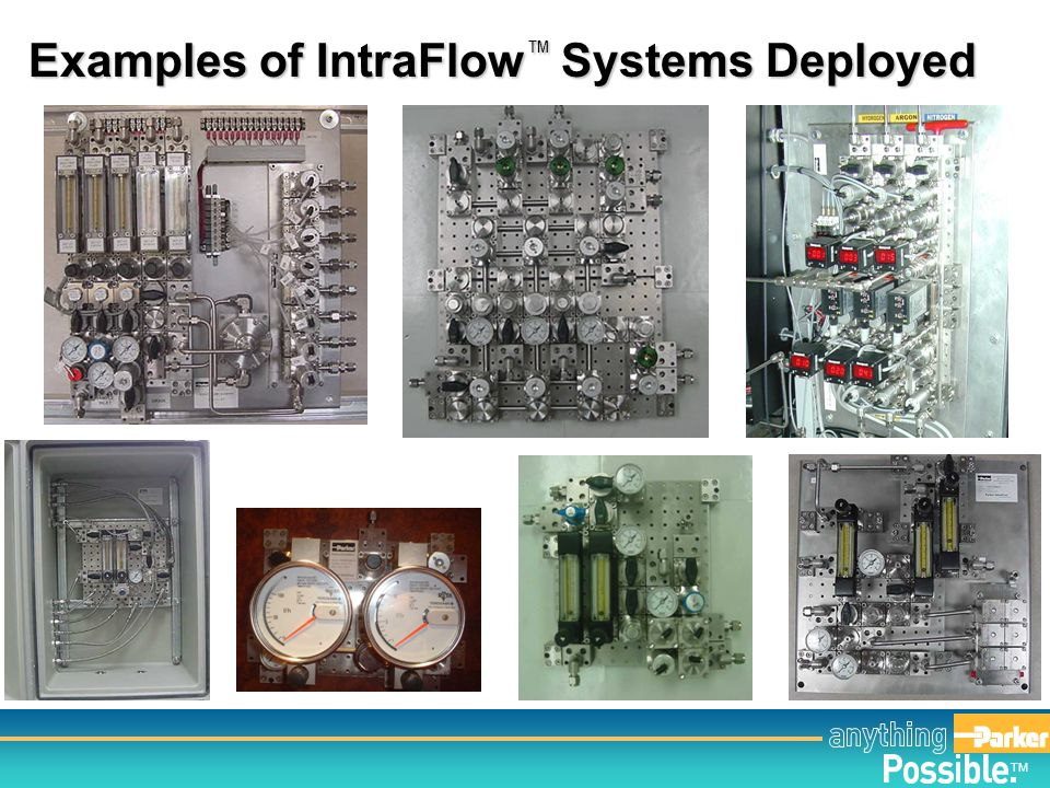 Examples of IntraFlow™ Systems Deployed