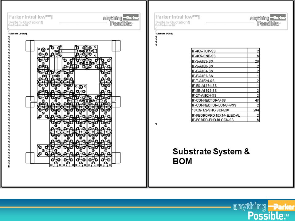 Substrate System & BOM