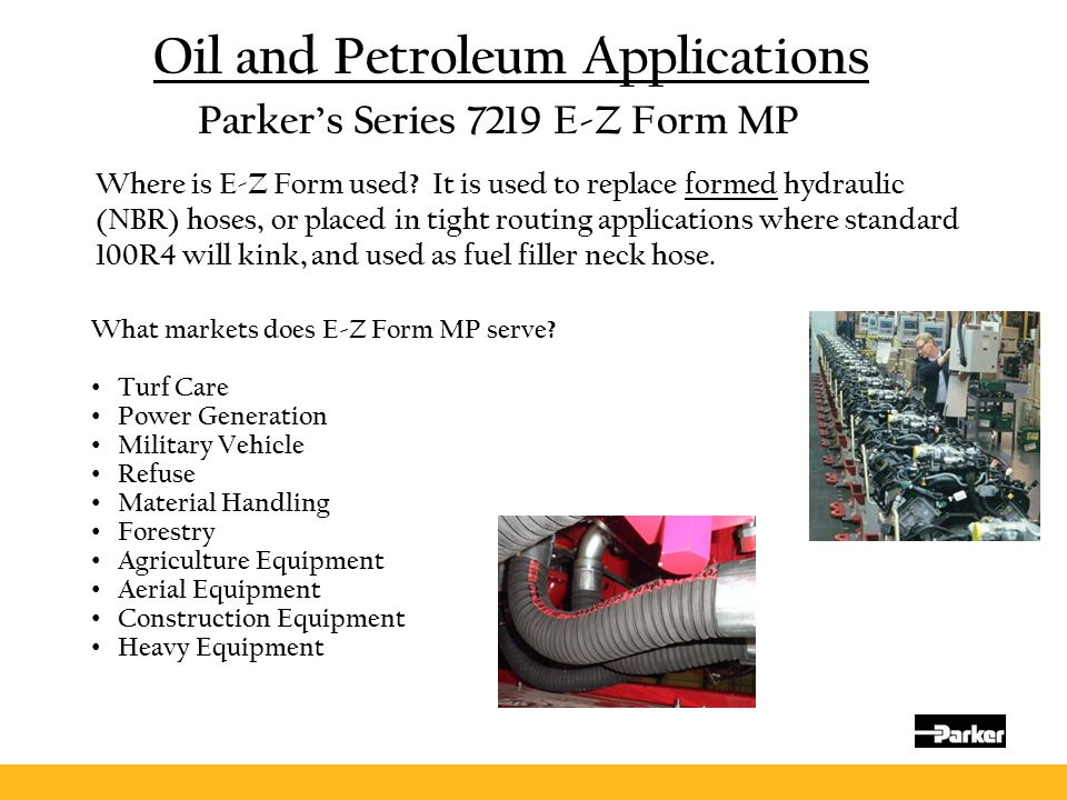 Oil and Petroleum Applications