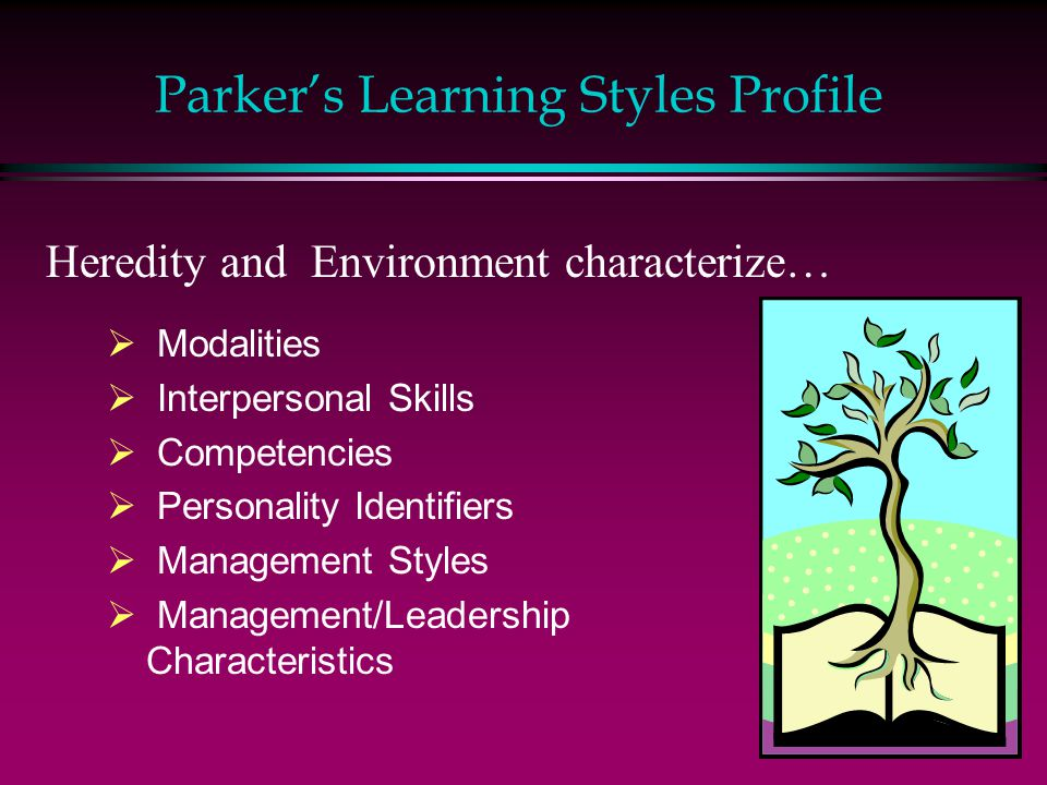 Parker's Learning Styles Profile
