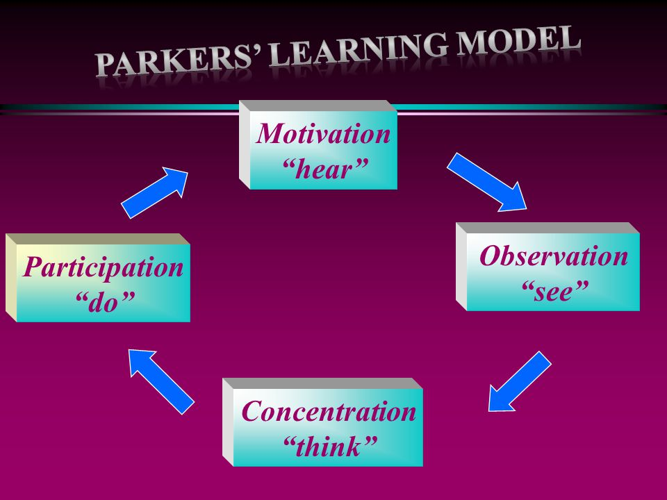 Parkers' Learning Model