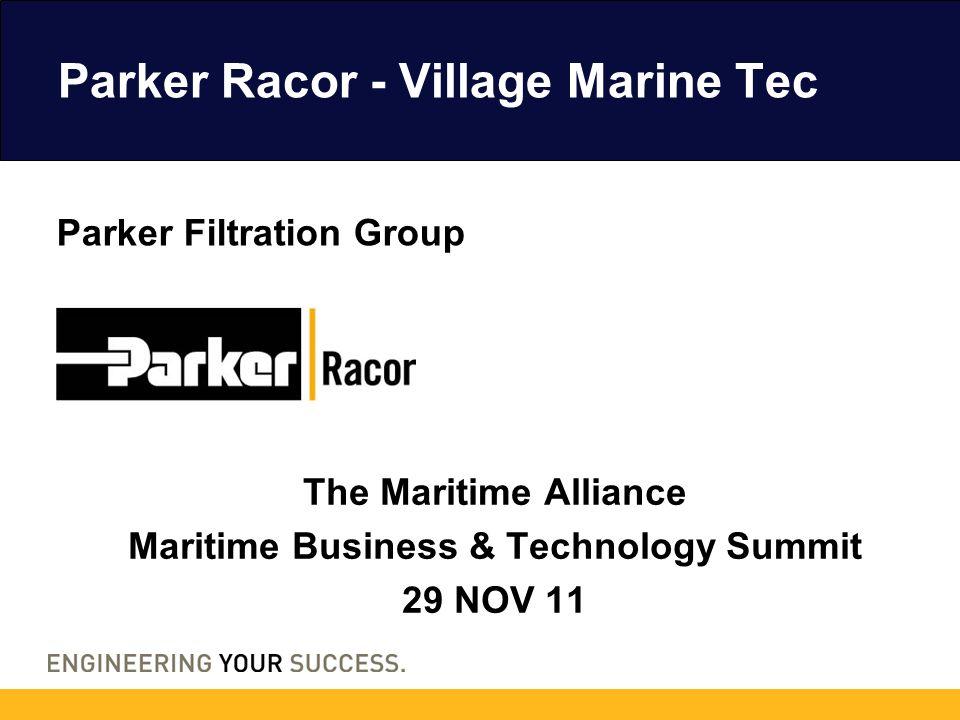 Parker Racor - Village Marine Tec