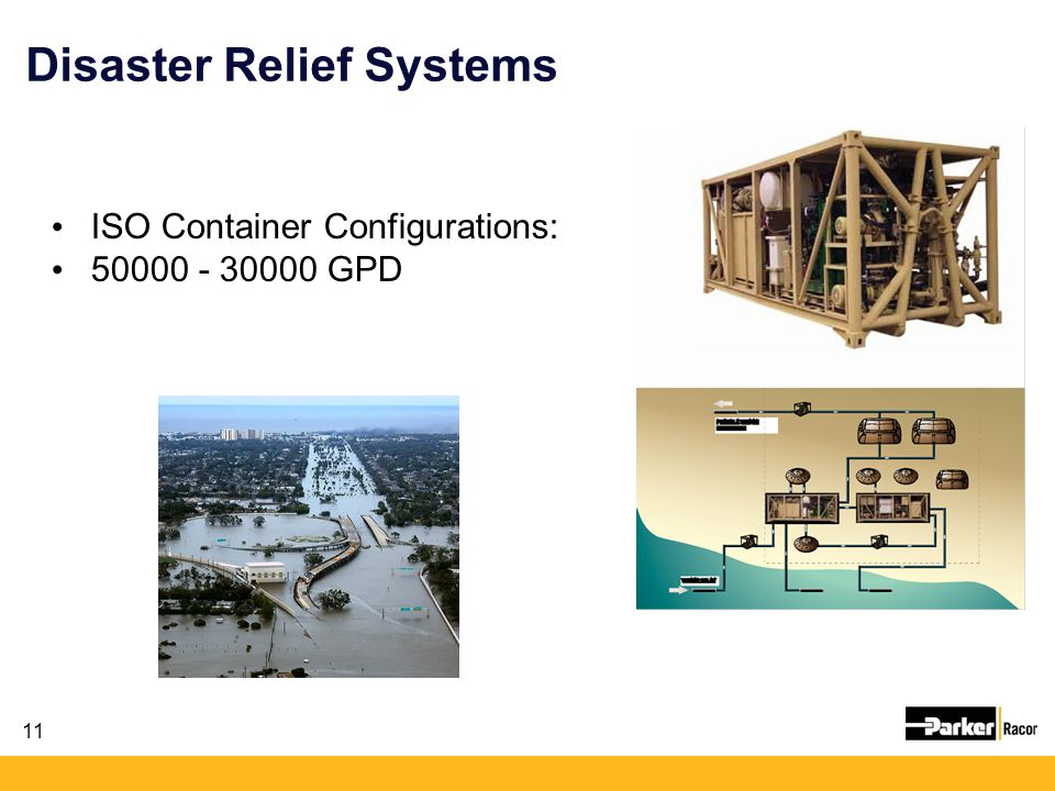 Disaster Relief Systems