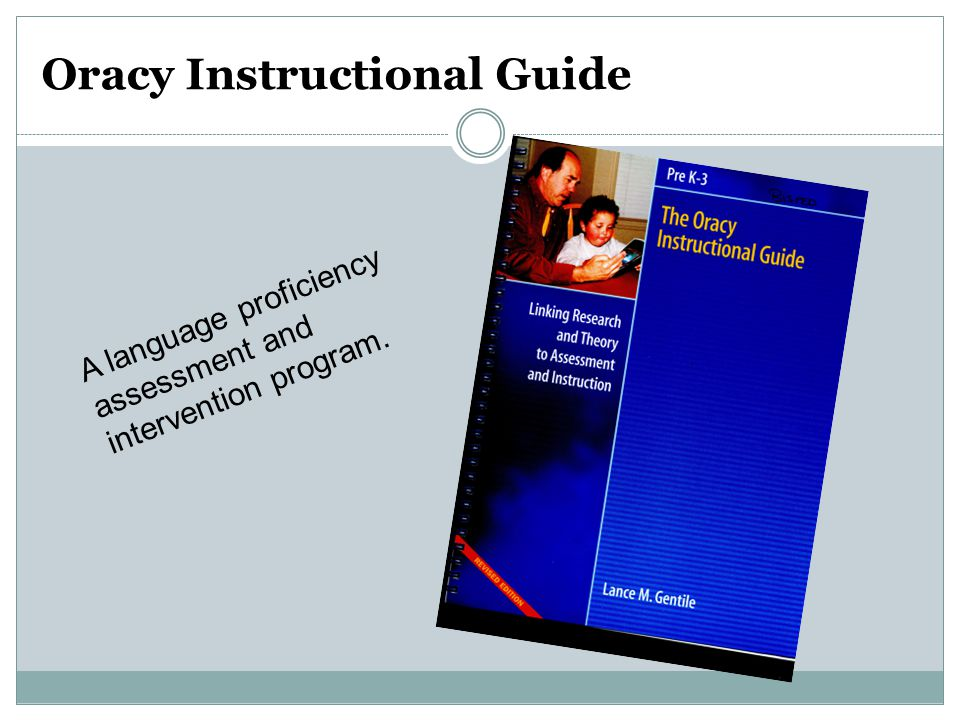 Oracy Instructional Guide