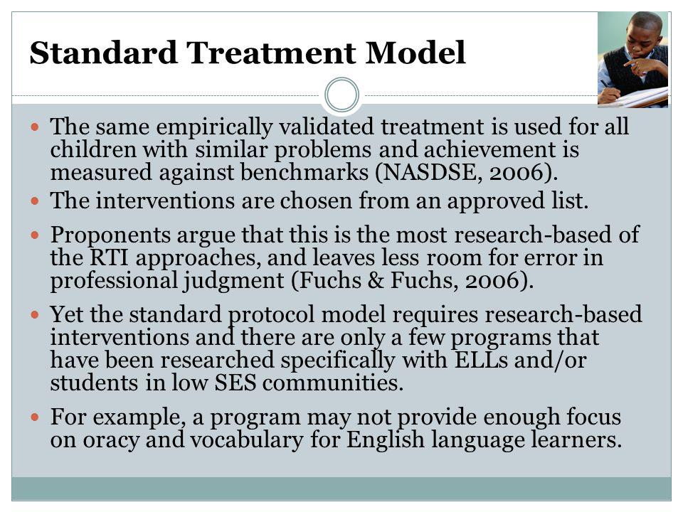 Standard Treatment Model