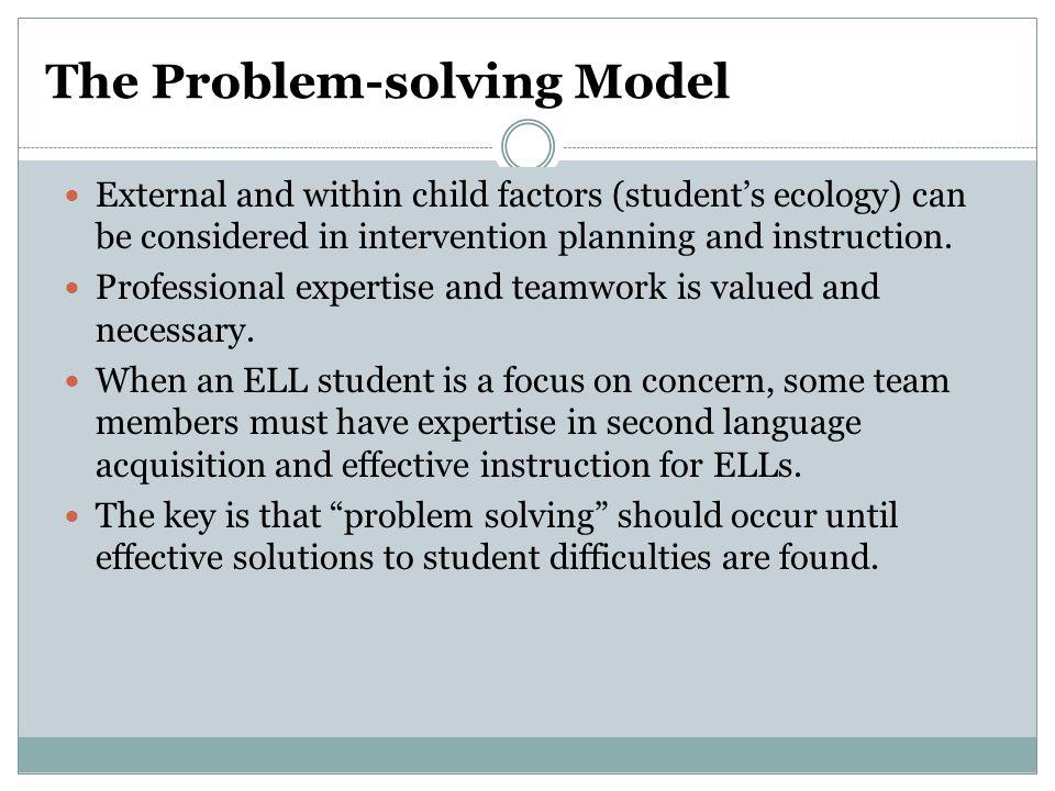 The Problem-solving Model