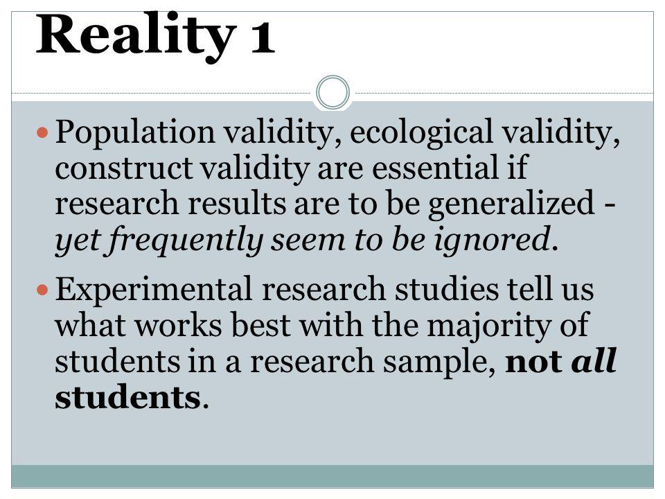 Reality 1