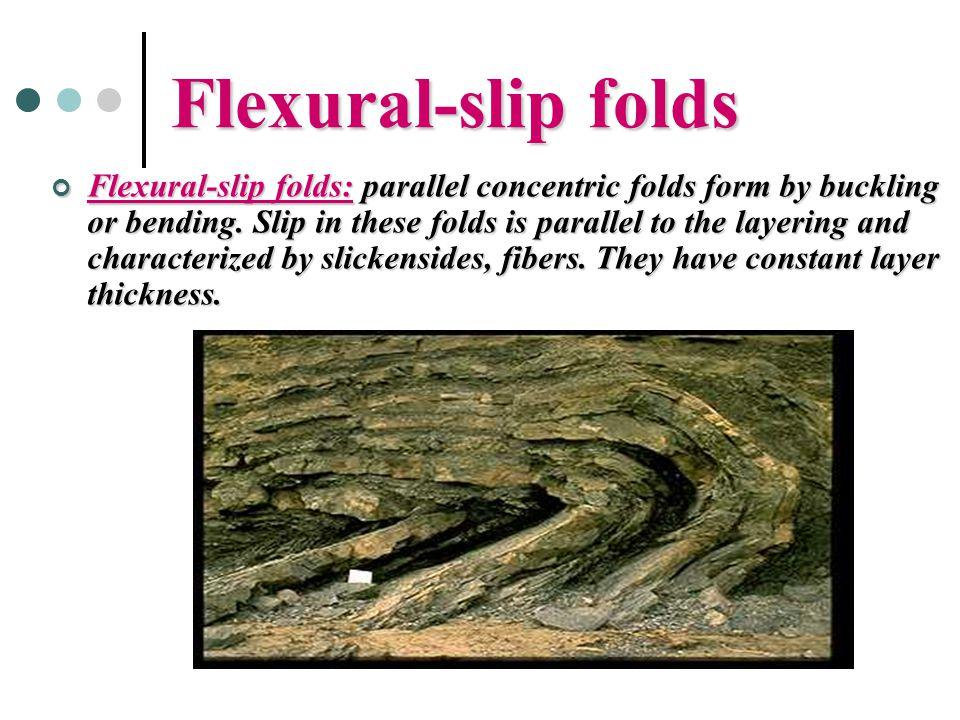 Flexural-slip folds