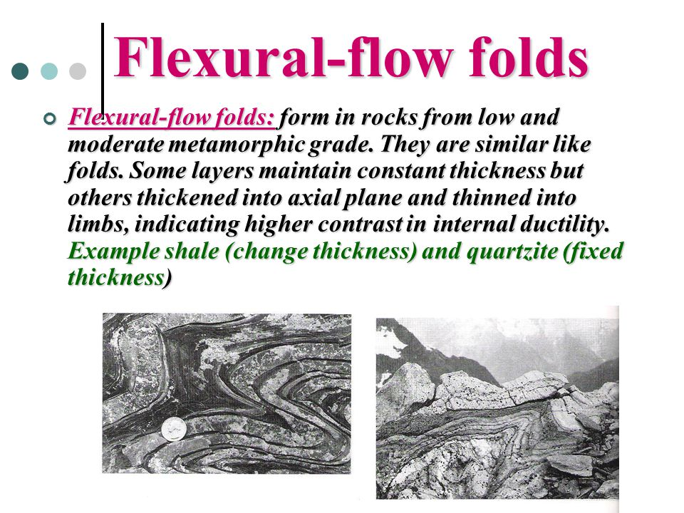 Flexural-flow folds