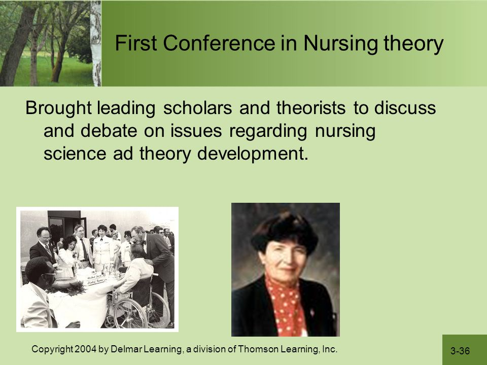 First Conference in Nursing theory