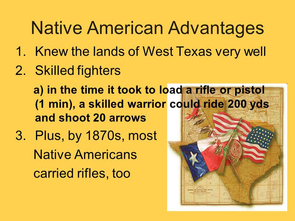 Native American Advantages