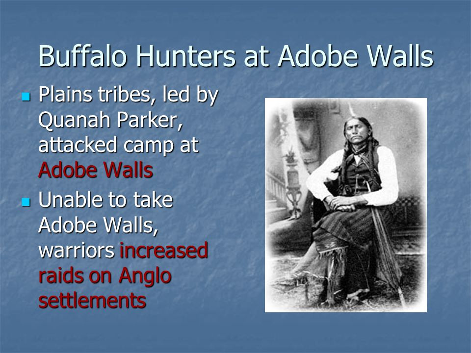 Buffalo Hunters at Adobe Walls
