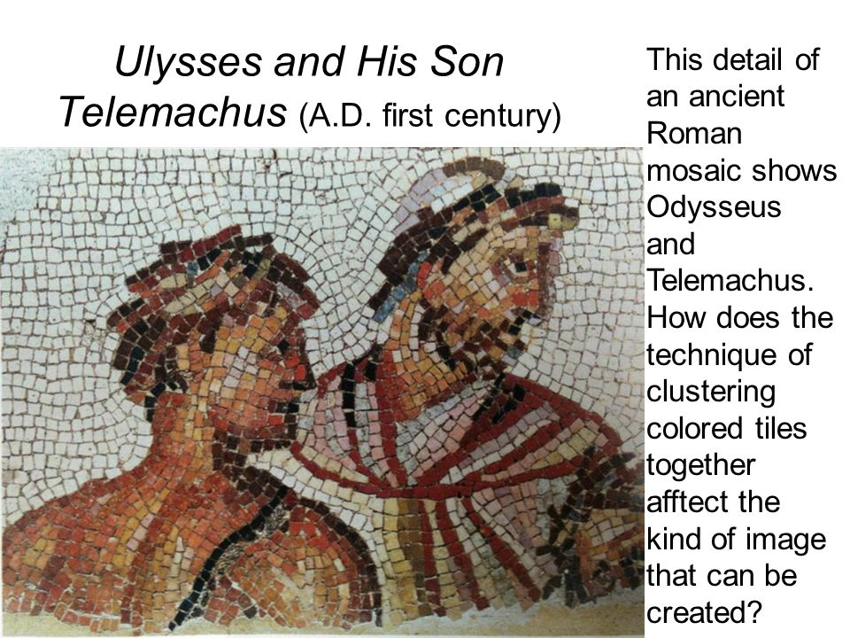 Ulysses and His Son Telemachus (A.D. first century)