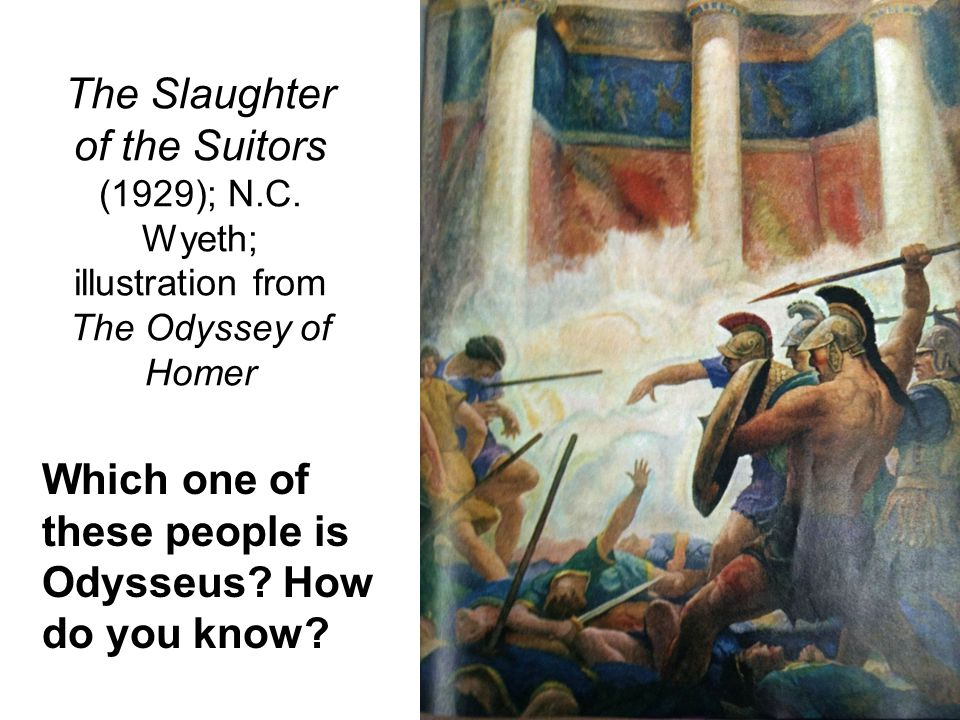 The Slaughter of the Suitors (1929); N. C