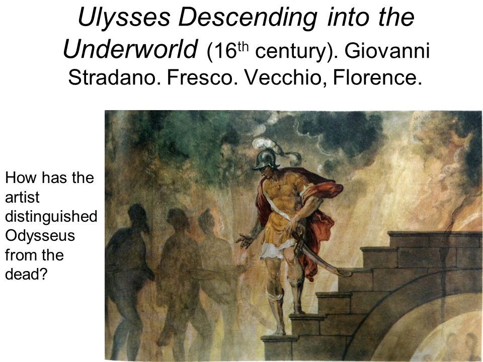 Ulysses Descending into the Underworld (16th century)