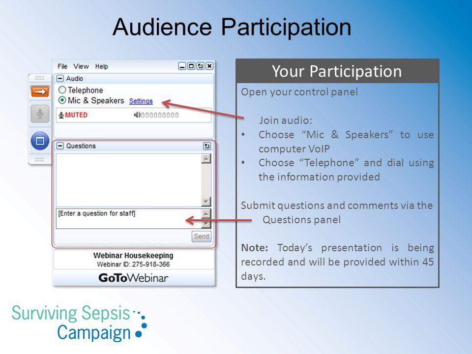 Audience Participation