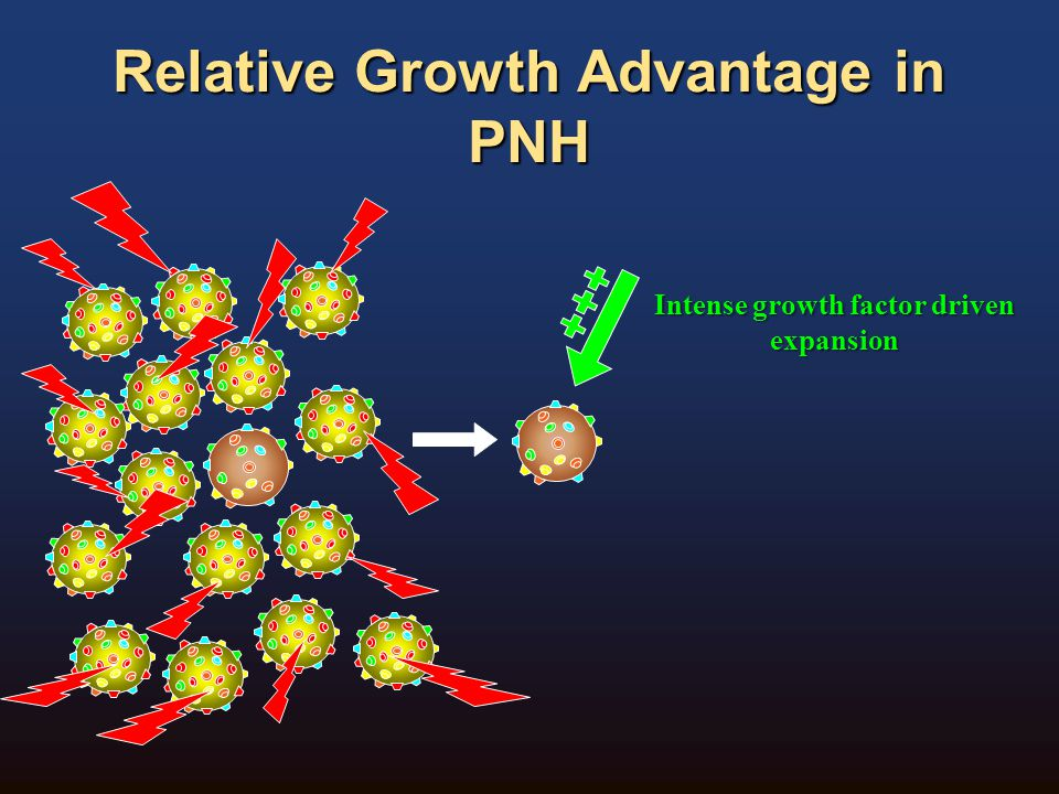 Relative Growth Advantage in PNH