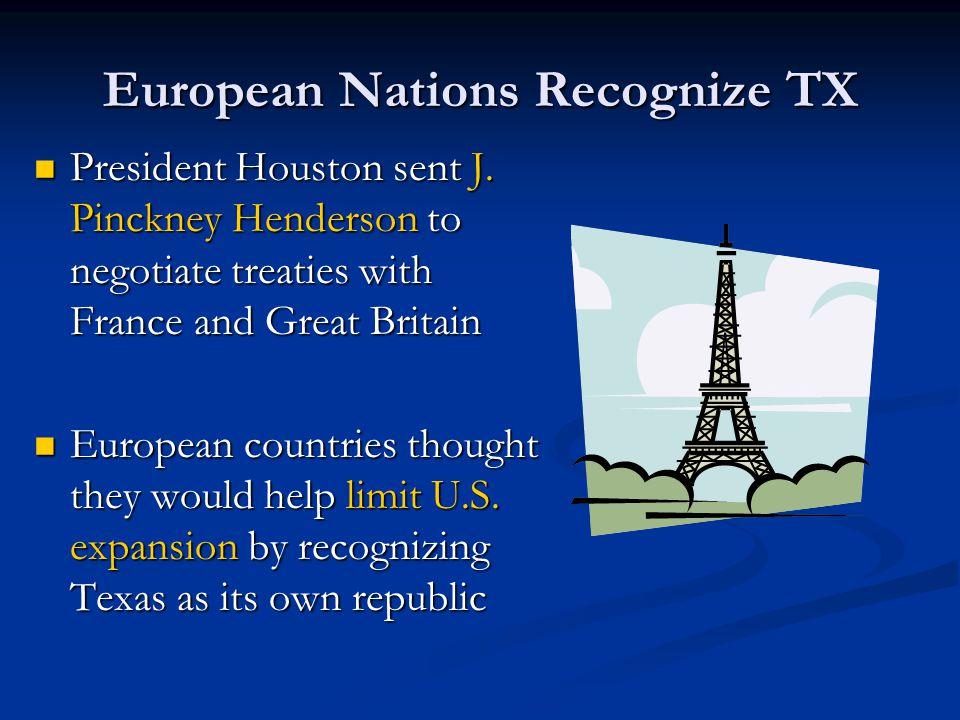 European Nations Recognize TX