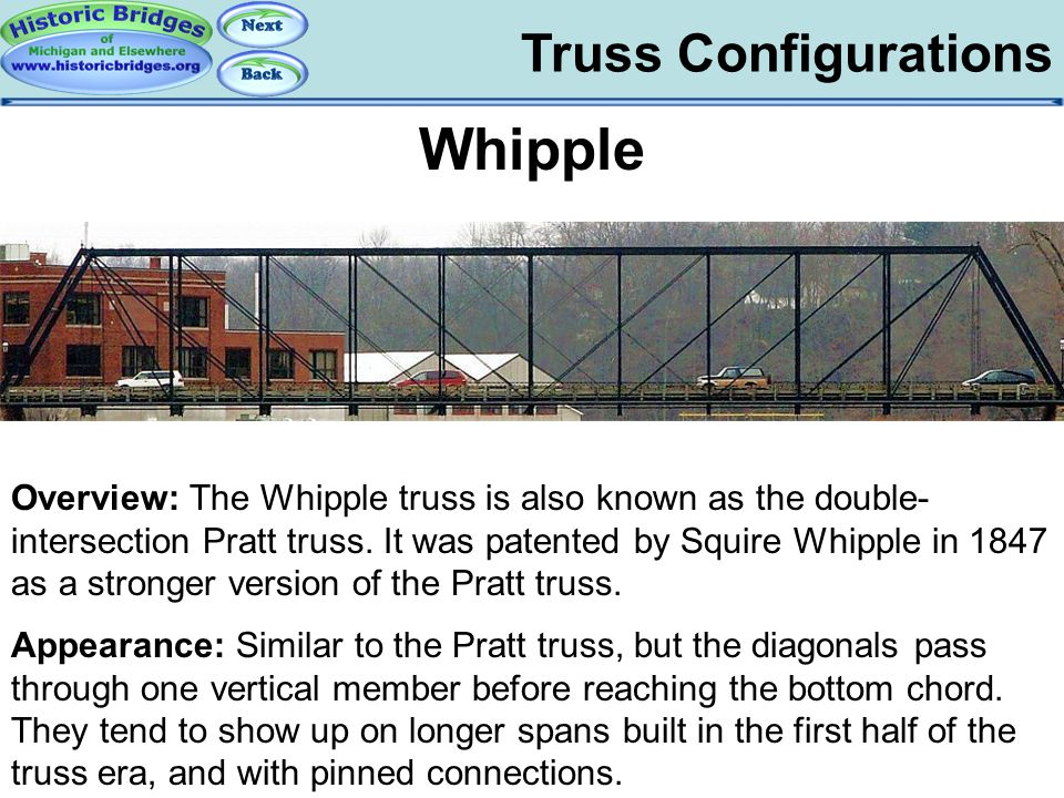 Truss Configs - Whipple
