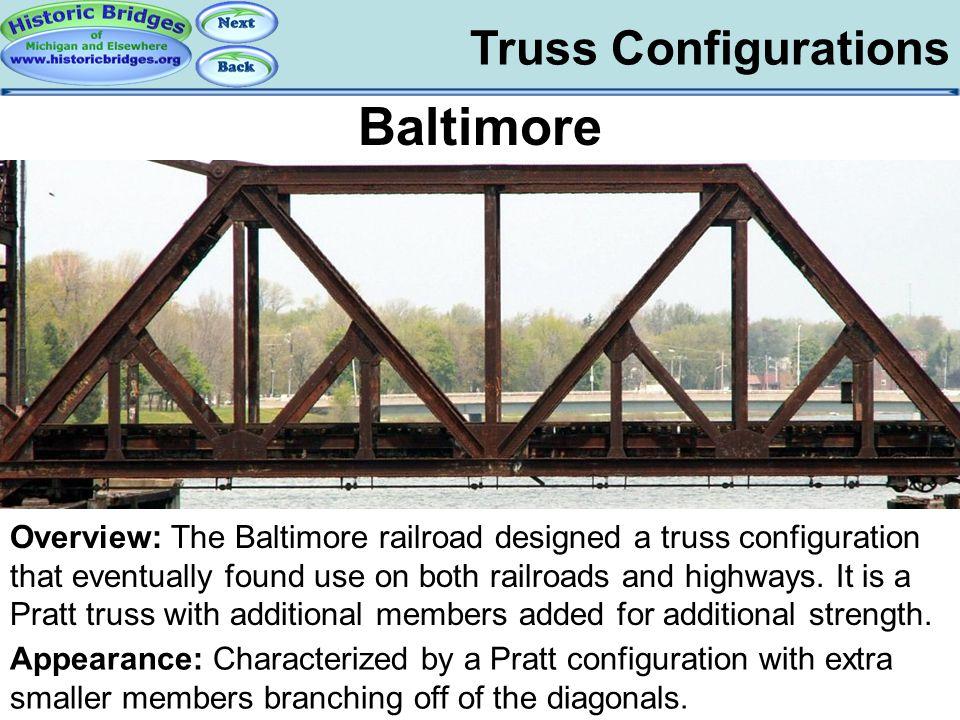 Truss Configs - Baltimore