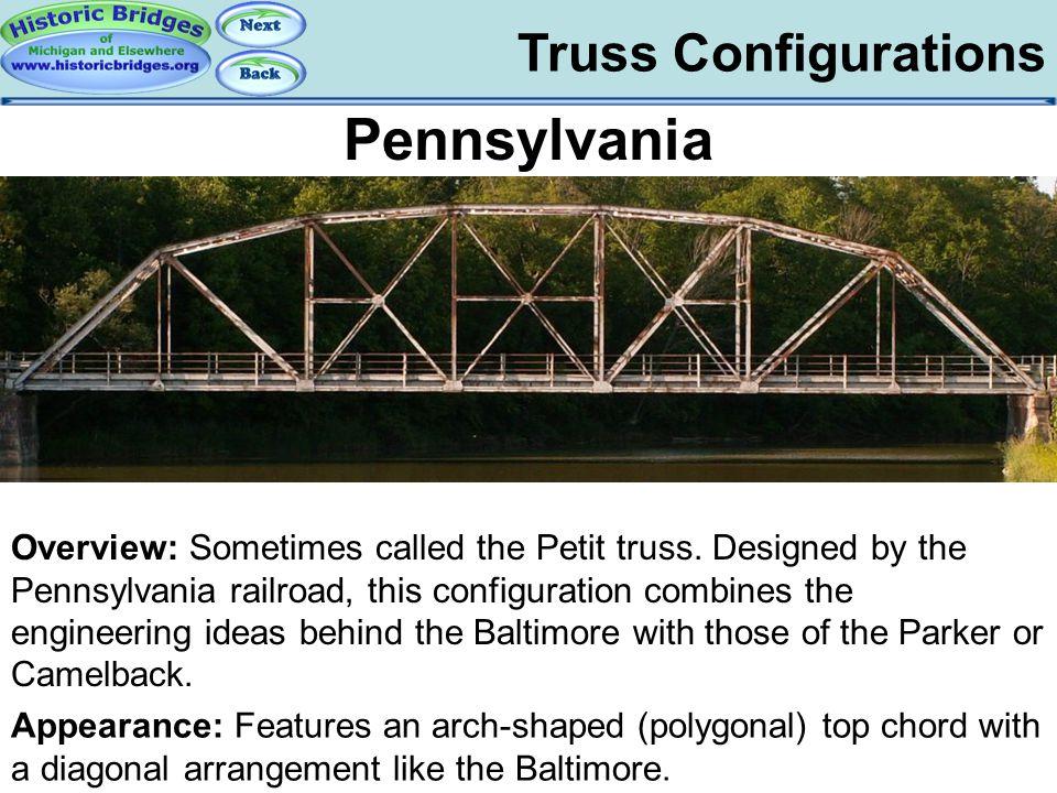 Truss Configs - Pennsylvania