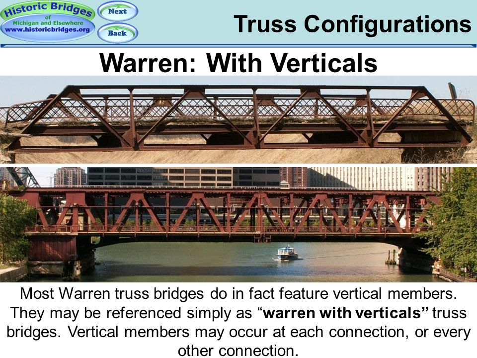 Truss Configs –Warren With Verticals